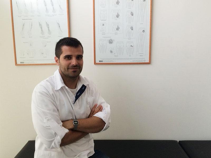 Manuel Machado fisioterapeuta